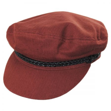 Ashland Herringbone Cotton Fiddler Cap alternate view 26