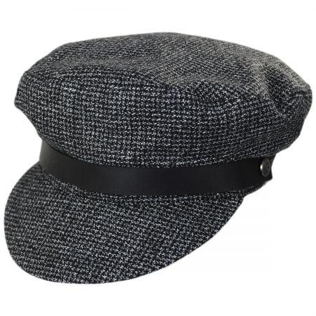 Brixton Hats Kurt Tweed Cotton Fiddler Cap