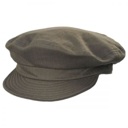 Unstructured Cotton Fiddler Cap alternate view 40