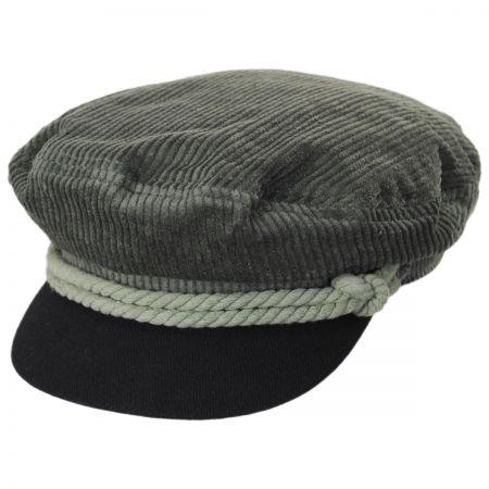 Brixton Hats Corduroy Two-Tone Fiddler Cap