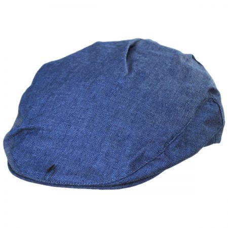 Linen Flat Cap at Village Hat Shop 22881c0730