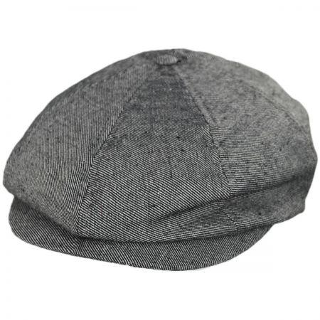 6109100f9e8 Navy Blue Newsboy Cap at Village Hat Shop