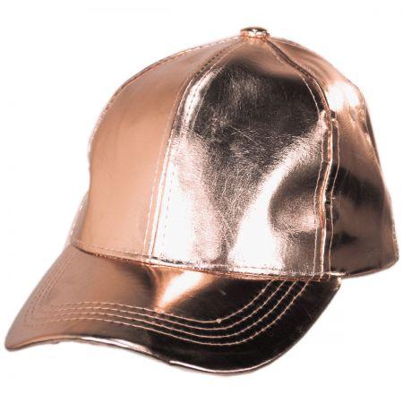 Something Special Metallic Adjustable Baseball Cap