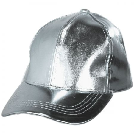 Metallic Adjustable Baseball Cap alternate view 5