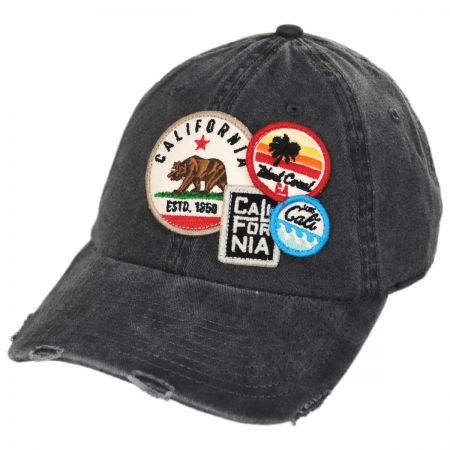 0cae99bf9a0f4 American Needle Iconic California Strapback Baseball Cap Dad Hat