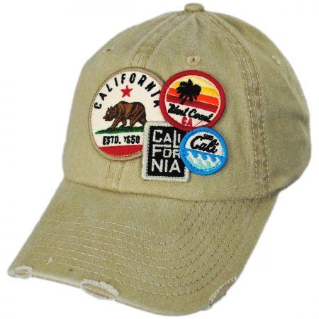 Tan Baseball Hat at Village Hat Shop 97245fde380