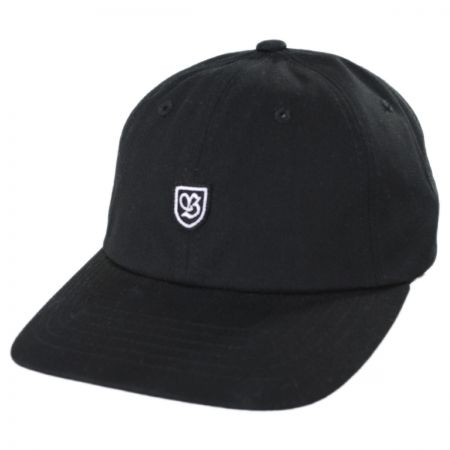 Brixton Hats B-Shield II Strapback Baseball Cap Dad Hat