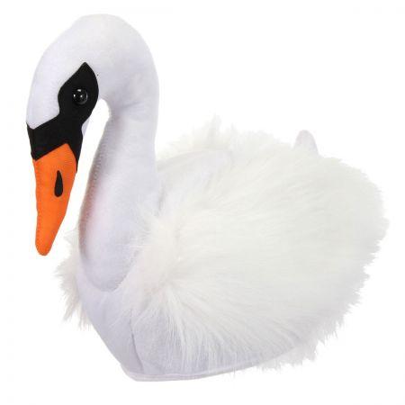 Swan Faux Fur Hat