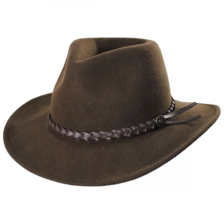 Eddy Bros Cougar Packable Wool Felt Western Hat