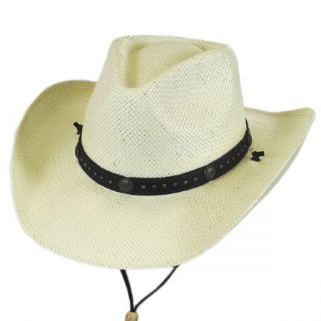 B2B Jaxon Wildhorse Toyo Straw Western Hat