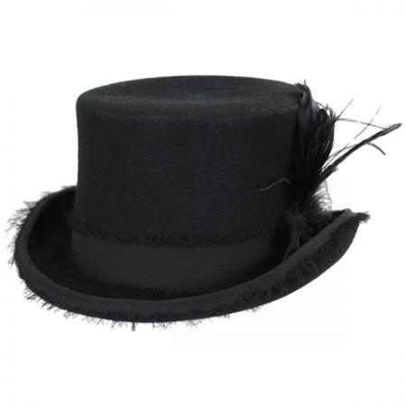 Vivienne Wool Felt Top Hat