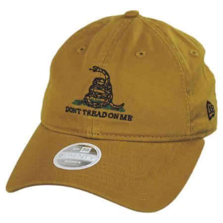 New Era Don't Tread On Me 9Twenty Strapback Baseball Cap Dad Hat
