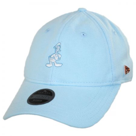 New Era Disney Donald Duck Micro Stitch 9Twenty Strapback Baseball Cap Dad Hat