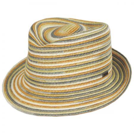 Spacedyed Braid Trilby Fedora Hat alternate view 5