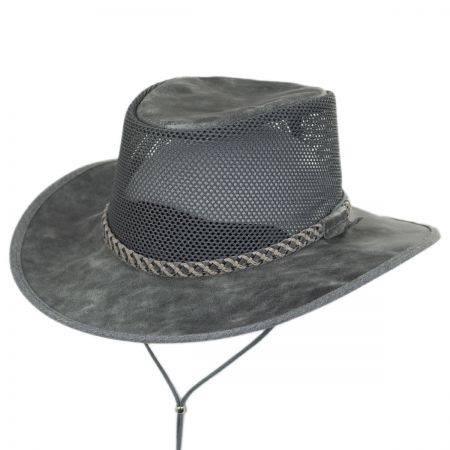 Monterey Bay Breeze Leather and Mesh Hat alternate view 53
