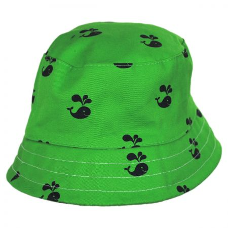Scala Kids' Pattern Cotton Bucket Hat
