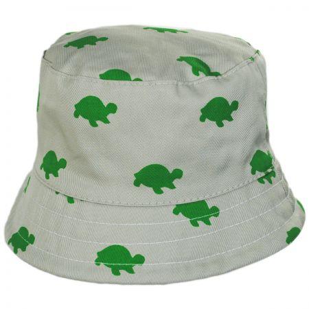 Scala Kids' Pattern Cotton Bucket Hat