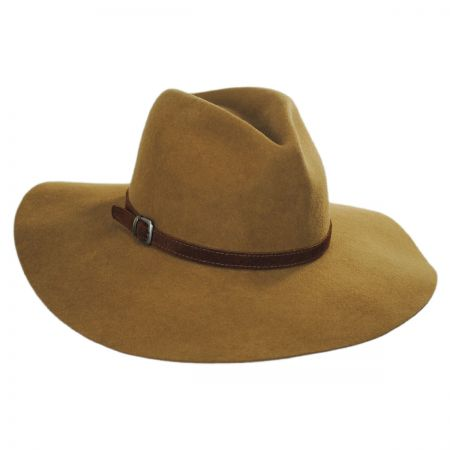 Bigalli Sophie Wool Felt Rancher Fedora Hat