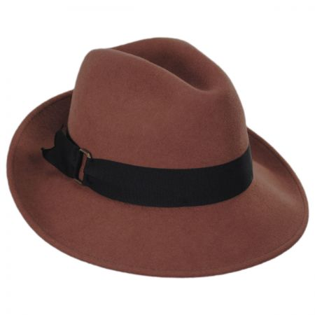 Rachel Wool Felt Fedora Hat alternate view 1