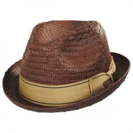 Castor Toyo Straw Fedora Hat alternate view 1