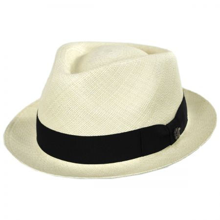 Boston Panama Straw Trilby Fedora Hat alternate view 37