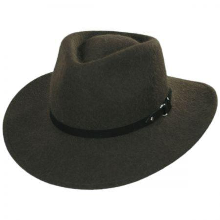 f1e83be5c Melbourne Alpaca and Wool Felt Outback Hat
