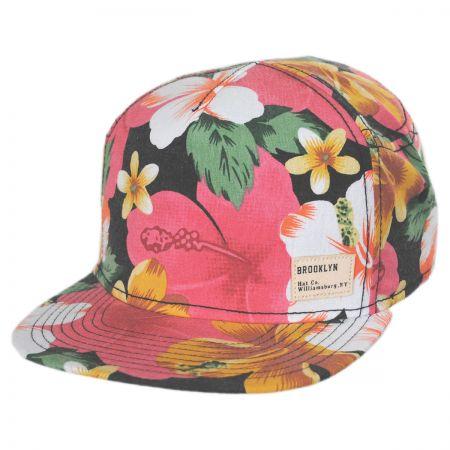 Brooklyn Hat Co Ohana Strapback Baseball Cap Dad Hat - Pink