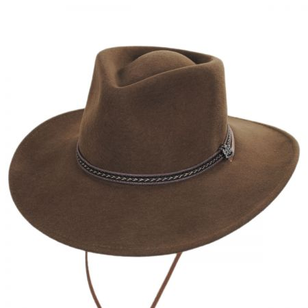 Biltmore Wilderness Wool Felt Outback Hat