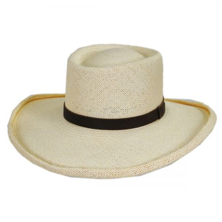 Twisted Panama Straw Gambler Hat alternate view 8