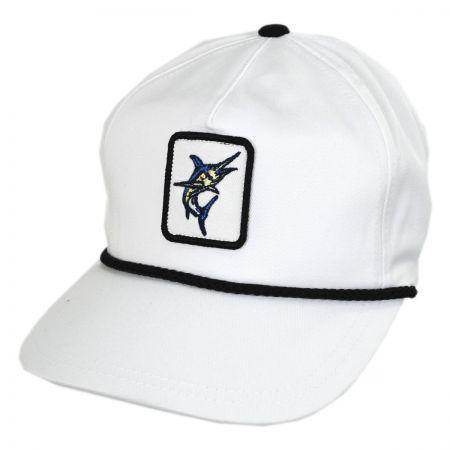 Swordfish Snapback Baseball Cap