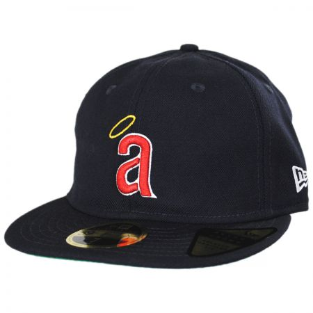 Los Angeles Angels MLB Retro Fit 59Fifty Fitted Baseball Cap