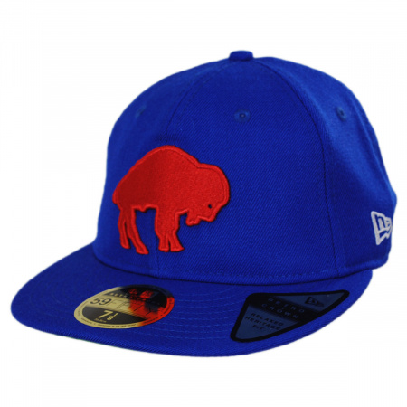Buffalo Bills NFL Retro Fit 59Fifty Fitted Baseball Cap alternate view 2