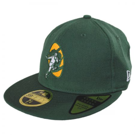 Green Bay Packers NFL Retro Fit 59Fifty Fitted Baseball Cap alternate view 1