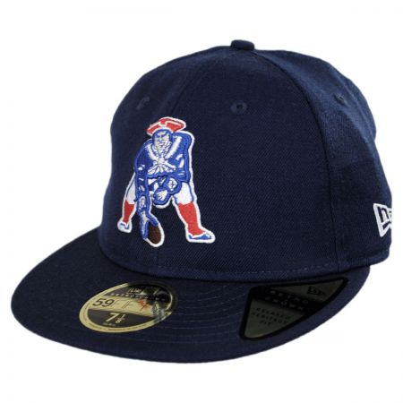 New Era New England Patriots NFL Retro Fit 59Fifty Fitted Baseball Cap