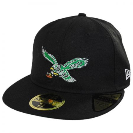 Philadelphia Eagles NFL Retro Fit 59Fifty Fitted Baseball Cap alternate view 1