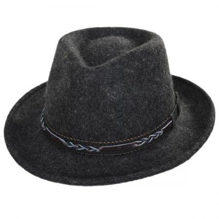 Brooklyn Hat Co Boaqueria Wool Felt Fedora Hat