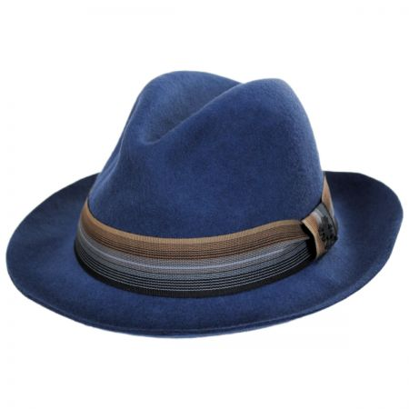 Gradient Wool Felt Fedora Hat alternate view 13