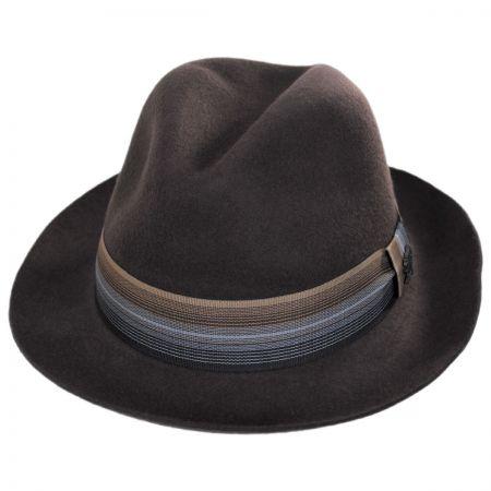 Gradient Wool Felt Fedora Hat alternate view 17