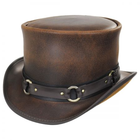 SR2 Leather Top Hat alternate view 18