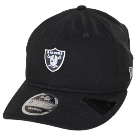 New Era Oakland Raiders NFL Badged Fan 9Fifty Snapback Baseball Cap
