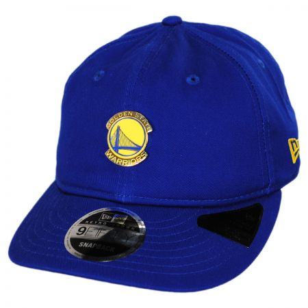 New Era Golden State Warriors NBA Badged Fan 9Fifty Snapback Baseball Cap