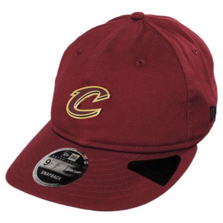 New Era Cleveland Cavaliers NBA Badged Fan 9Fifty Snapback Baseball Cap