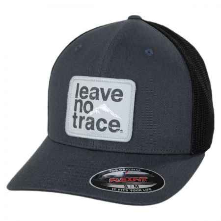 Leave No Trace Flexfit Mesh Fitted Baseball Cap alternate view 1