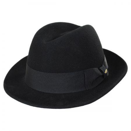 Scala Low Rider Wool Felt Classic Fedora Hat