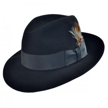Pinnacle Beaver Fur Felt Fedora Hat alternate view 73