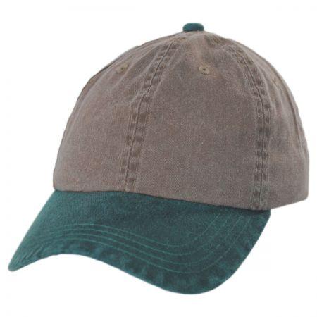 Kee   Ed Headwear Pigment Dyed Strapback Baseball Cap Dad Hat f539e969907