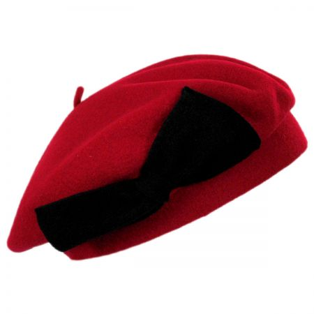 Coco Bow Wool Beret alternate view 4