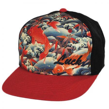 Lucky Koi Snapback Baseball Cap alternate view 1