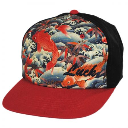 Carlos Santana Lucky Koi Snapback Baseball Cap