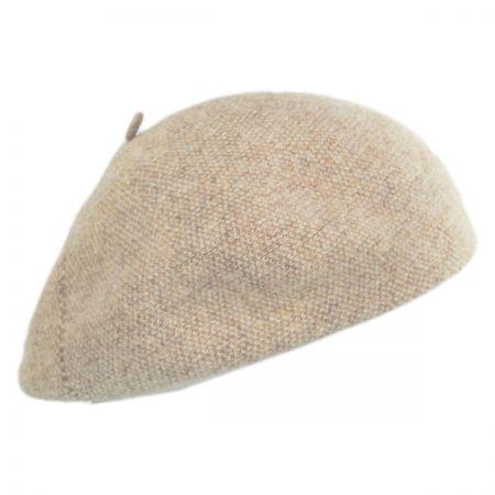 Scala Tweed Wool Beret